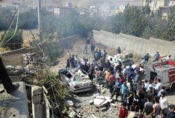 ۴ منزل مسکونی در سنندج بر اثر انفجار گاز تخریب شد