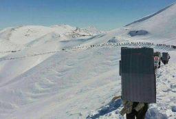 مرگ کولبران کرد بر اثر بارش برف و سقوط بهمن در ارتفاعات ژالانه