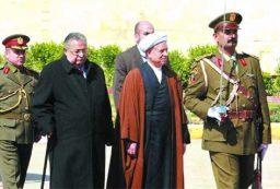 هاشمی رفسنجانی و شخصیت های سیاسی کرد