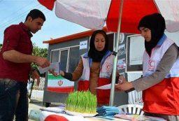 اجرای ۲ طرح ملی توسط جمعیت هلال احمر کردستان در ایام نوروز